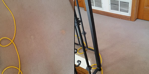 remove solvent stains